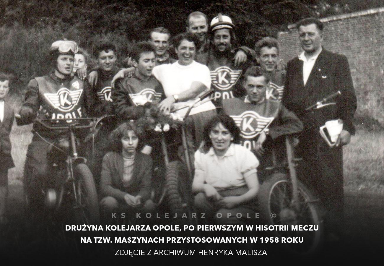 kolejarz opole 1958