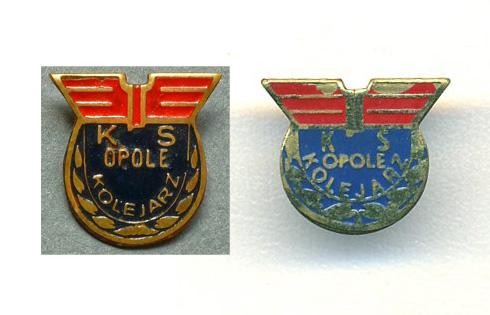 odznaki kolejarz opole
