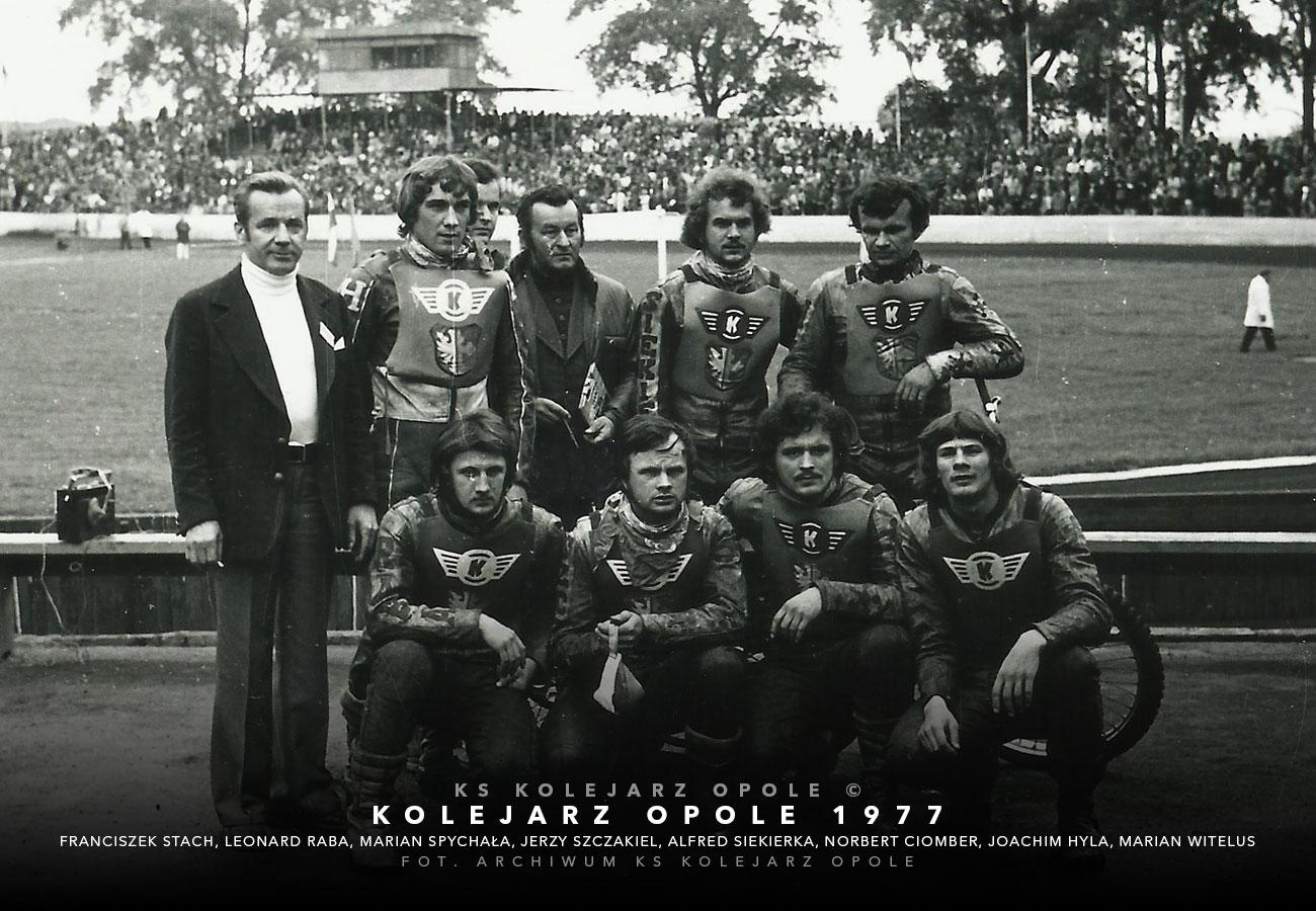 kolejarzopole1977