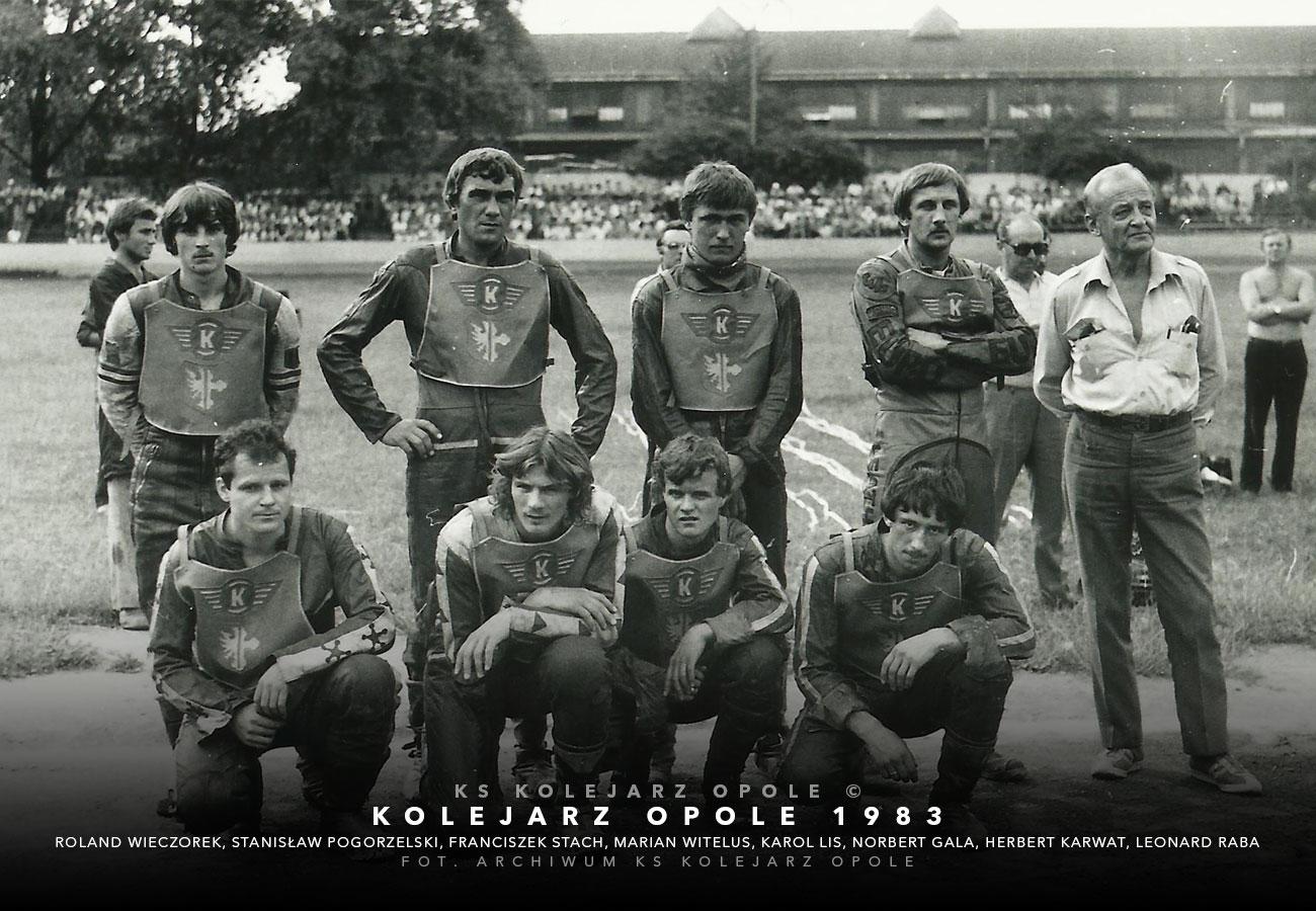 kolejarzopole1983