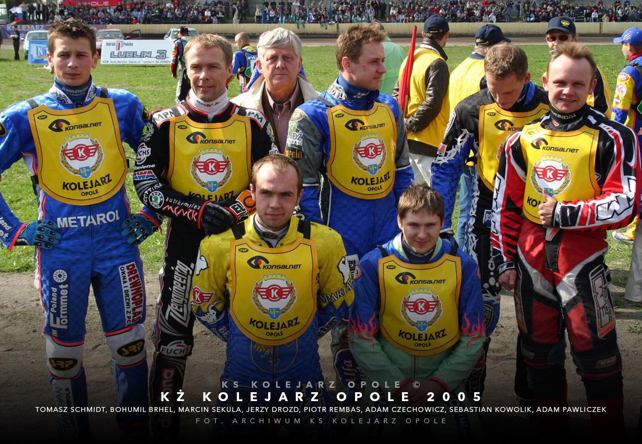 kolejarzopole2005